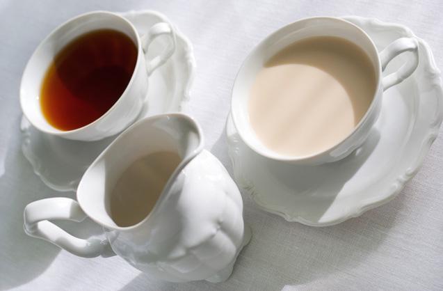 Adição de leite ao chá Destrói seus antioxidantes?